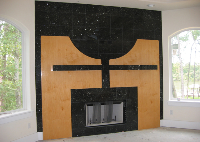 Exceptional ... Custom Fireplace Design  Interior Design In Houston, Texas ... Photo